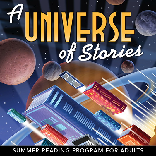 A Universe of Stories (Adults SRP Poster)