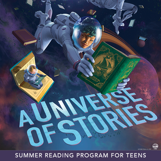 A Universe of Stories (teens SRP poster)